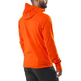 Mammut Ultimate V SO Hooded Jacket Men dark orange-titanium melange